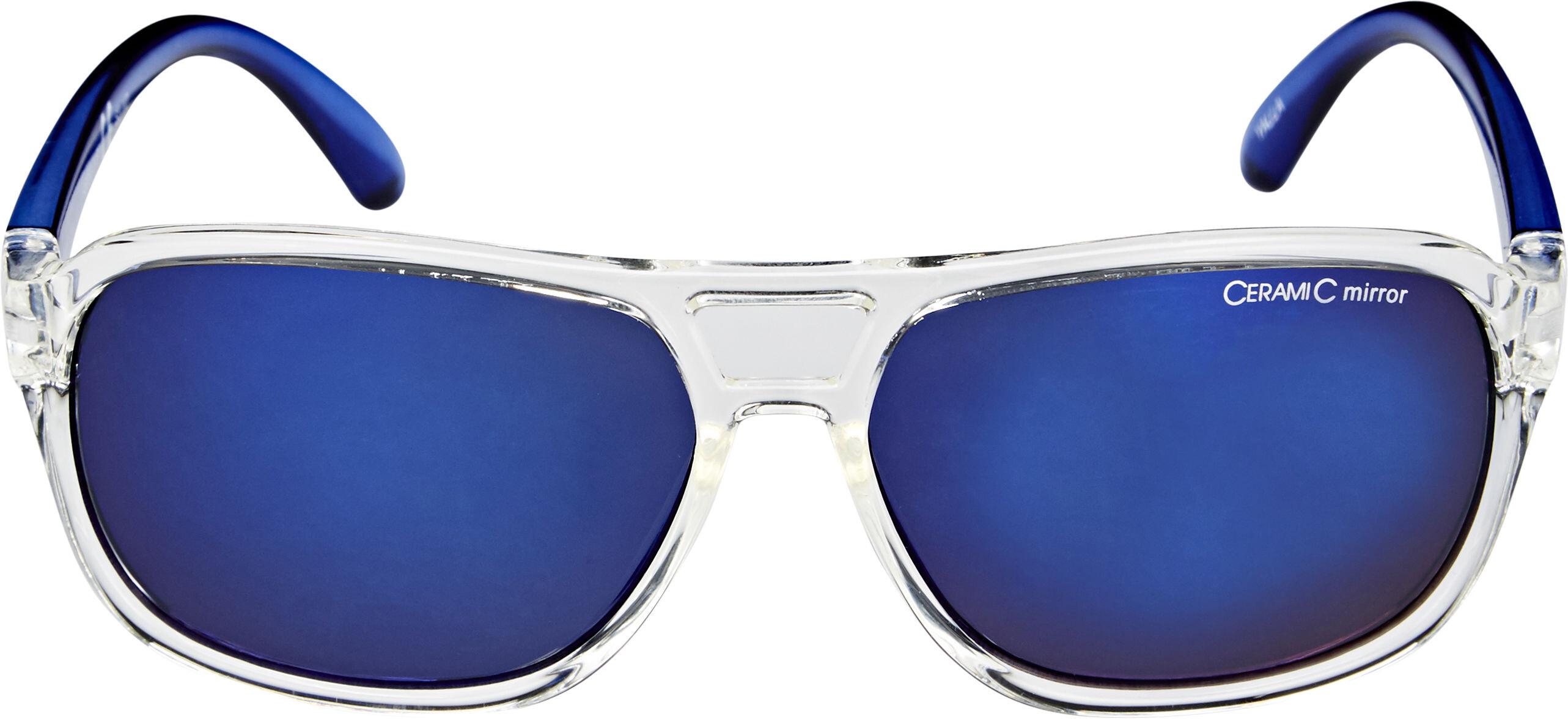 5cbd79cf20a7 Alpina Yalla Cykelbriller Børn blå gennemsigtig
